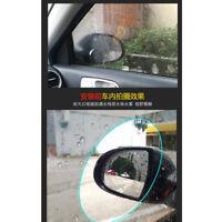 2X Rainproof Car Rearview Mirror Film Anti Fog Water Mist Protective Rain Shiel