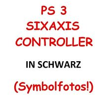 SIXAXIS DUALSHOCK 3 CONTROLLER nero PS3 Joypad per PC SONY PLAYSTATION 3 NUOVO