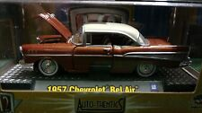 M2 Machines 1957 Chevrolet Bel-Air Brown Auto Thentics 1/64 57 Car 08-48 HTF