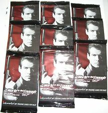 1999 Inkworks James Bond: The World Is Not Enough sealed 9 pack lot