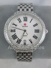 Michele Serein 16 Diamond Silver Stainless Steel Watch MWW21B000001 Refurbished