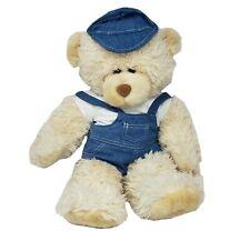 "21"" BUILD A BEAR HUG ME BEAR CREME TEDDY STUFFED ANIMAL PLUSH TOY BABW RETIRED"