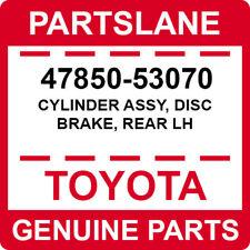 47850-53070 Toyota OEM Genuine CYLINDER ASSY, DISC BRAKE, REAR LH