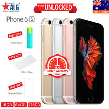 New Sealed Box Factory Unlocked APPLE iPhone 6S 16GB 64GB 128GB 1Yr Wty