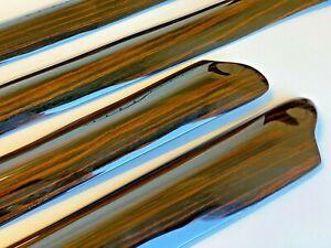 Mercedes W108 280SE Short Chasis Ebony Wood 4 Pcs Door Trims