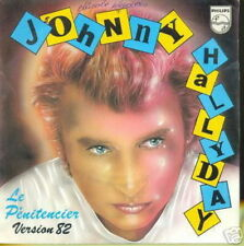 JOHNNY HALLYDAY 45 TOURS FRANCE LE PENITENCIER '82