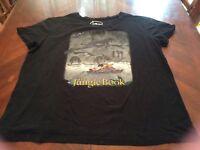 Black Jungle Book Disney Tshirt Size XXL (19) Womens Juniors