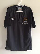 Manchester City FC Jersey - Umbro - Boy's size 6 - Gray
