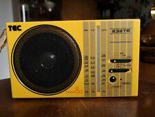 TEC Radio 232 TR Taschenradio Weltempfänger UKW MW KW 70er/ 80er Jahre Vintage