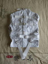 Medium Blanc Heavy Duty Camisole de force medical restraint en toile épaisse Uni...