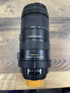 Sigma 120-400mm f/4.5-5.6 APO HSM DG OS AF Lens