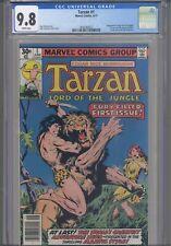 Tarzan #1 CGC 9.8 1977 DC Comics Adaptation of Edgar Rice Burroughs Tarzan Novel