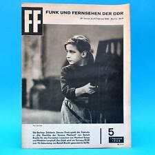 DDR FF-Dabei 5-1968 / 29.01.-04.02. Fernsehturm Berlin Fred Frohberg Machard
