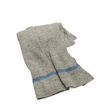 """Ralph Lauren Hoxton Gravesend 54"""" x72"""" Knit Throw Blanket Grey/Light Blue $330"""