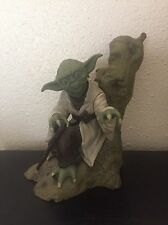Star Wars Yoda Dagobah Kotobukiya ArtFX Soft Vinyl Model Kit Statue Empire ESB