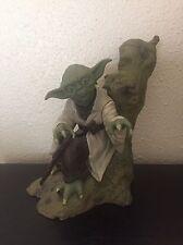 Star Wars Yoda Dagobah Kotobukiya ArtFX Soft Vinyl Model Kit Statue Empire ESB