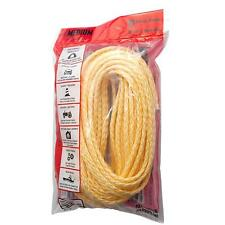 New Bevis Rope Medium Duty Hollow Braided Polypro Rope 3/8 x 50 ft Made in Usa