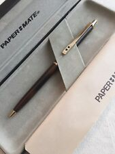 PAPER MATE TORTOISE LAQUE GT BALLPOINT PEN-WEST GERMANY-BOXED/PAPERS-NOS