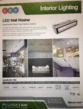 LITECORR - Wall Wash LED Fixture (surface or track mountable)