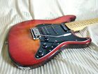 Hand made Eugene Electric Guitar Stratocaster style Ash body for sale