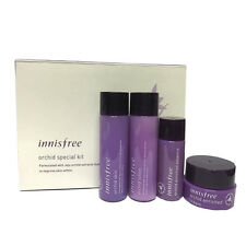 Innisfree Sample Orchid Skin Care Special Kit 4 Item (Skin/lotion/Cream/Essence)