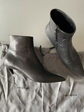 Balenciaga Knife Kitten Heel Boots IT39.5