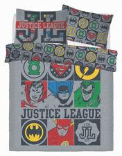 Neuf Justice League Icon Double Housse Couette Set Garçon Enfants Chambre Cadeau