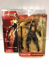 Onimusha Saiga Magoichi Statuetta Capcom McFarlane Toys 2002