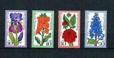 Berlin 1976 postfrisch Nr. 524 - 527 ** Blumen Flowers