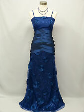 Cherlone Blue Ballgown Wedding Evening Bridesmaid Formal Full Length Dress 14