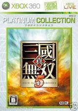 Used Xbox 360 Shin Sangoku Musou 5 MICROSOFT JAPAN JP JAPANESE JAPONAIS IMPORT