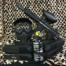 NEW Empire BT-4 Delta ELITE EPIC Paintball Marker Gun Package Kit - Black