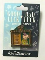 Disney Good Luck Bad Luck Dopey Snow White and the seven Dwarfs Princess LE Pin