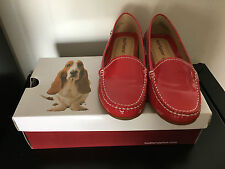 hush puppies sneaker patent red slip-on leather Sneaker-EU37/US 7/AU 6/UK 4