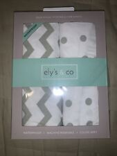 Ely's & Co. Kid's Waterproof Pack n Play Portable Mini Crib Sheet with.