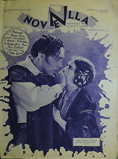 """ NOVELLA N°12 Anno X° del 22-29 /MAG/1928 : GRETA GARBO - MARY PICKFORD -"