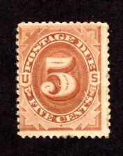 US Scott J 4 Mint Hinged from 1879, 5 cent