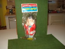 1972 LAUREL AND HARDY - OLIVER HARDY BEND 'EM DOLL STILL IN PACKAGE.  NICE