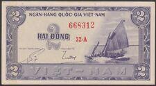 TWN - SOUTH VIETNAM 12a - 2 Dong 1955 AU/UNC