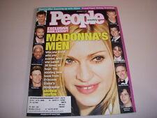 PEOPLE Magazine, November 12, 2001, MADONNA'S MEN, ABBA, MICHAEL JORDAN!