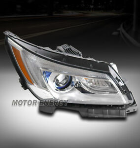 FOR 14-16 BUICK LACROSSE REPLACEMENT CHROME PROJECTOR HEADLIGHT LAMP PASSENGER