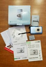 Canon PowerShot SD1300 IS Digital Camera Elph 12MP AS IS PARTS REPAIR battery