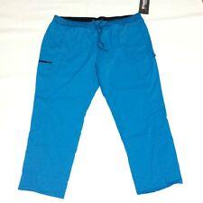 Greys Anatomy By Barco Blue Medical Dental Scrub Pants Womens Plus Size 4Xl