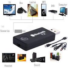 Wireless Bluetooth Stereo 3.5mm Audio Adapter USB Transmitter für TV MP3