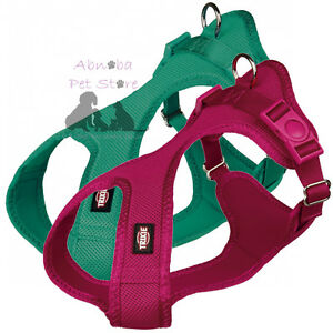 Dog Soft Harnesses breathable mesh material & nylon fully adjustable belly strap