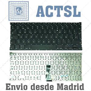 "TECLADO ESPAÑOL para portátil Apple Macbook Air A1466 13"""