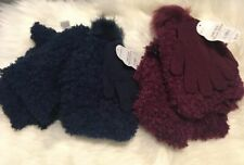 New with tags 2 sets with mittens, scarf and very soft and warm hat toddler gift