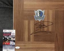 Dirk Nowitzki Dallas Mavericks Basketball Signed Floorboard NBA JSA
