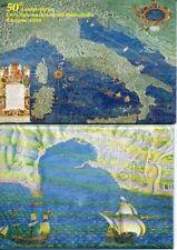 4 CARTOLINE VATICANO 50 ANNIVERSARIO FIERA INTER DEL FRANCOBOLLO RICCIONE 1998