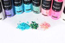 Glitter Galaxy SnoWhite MYLAR FLAKES 10 COLORI PER BIJOUX e FAI DA TE